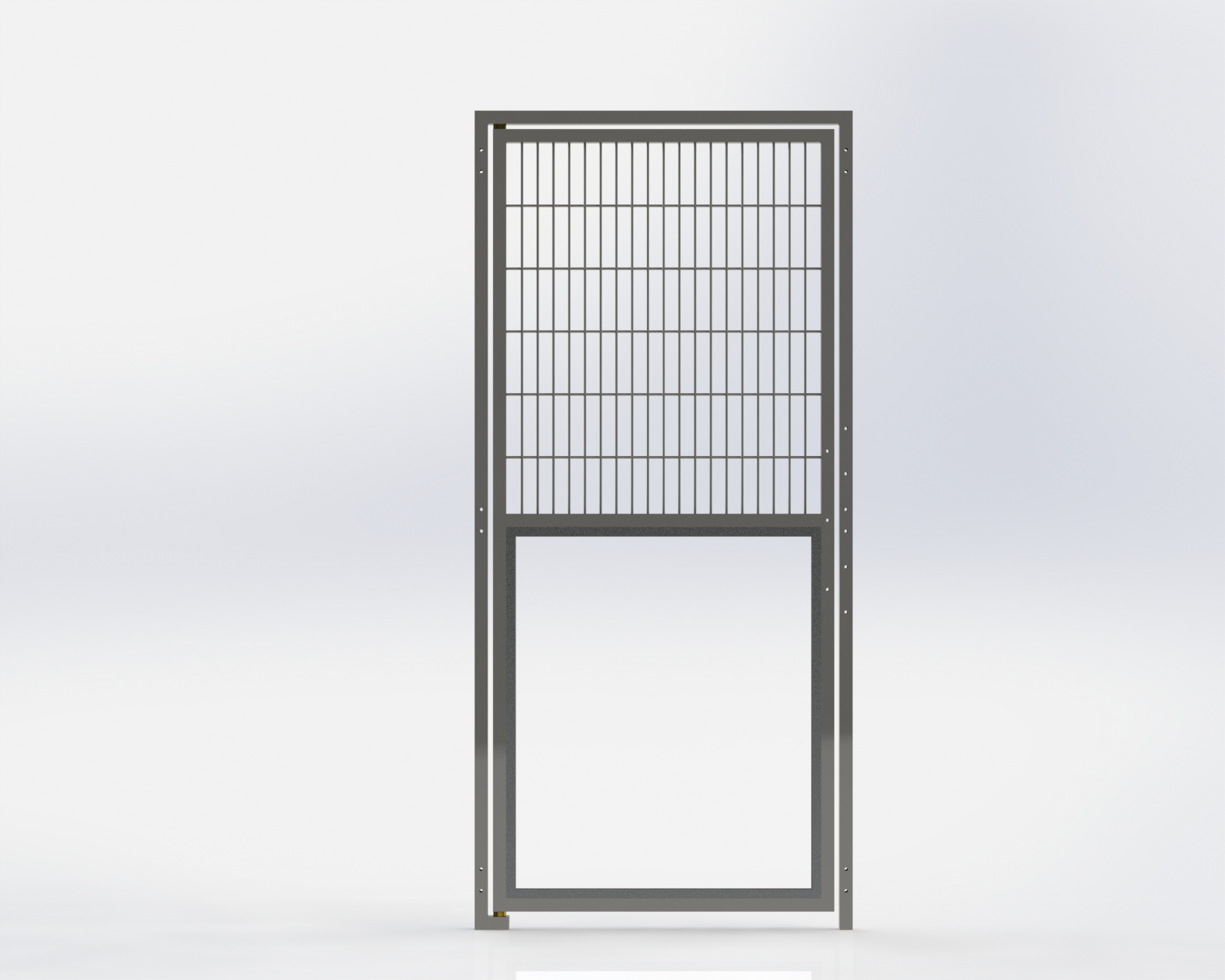 Run Gate,Lower Glass,762mm Wide x1981.2mm High,Right Hand