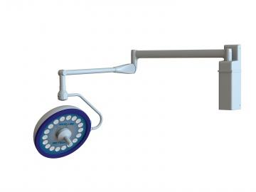 Prelude LED Wall Mount Surgery Light Single Head