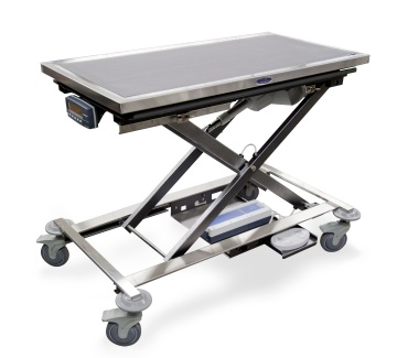 Mobile Animal Lift Table with K9-W8 Scale
