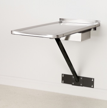 Stationary Wall Mount Examination Table