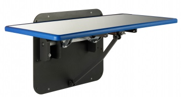 Blue Line Fold Up Wall mounted lateral exam table