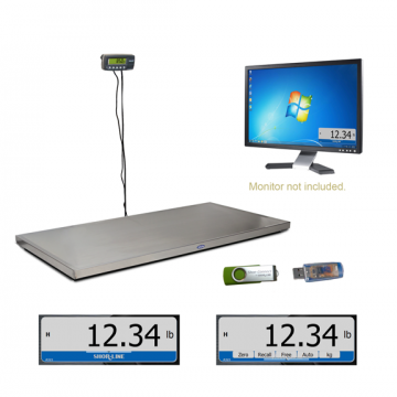 K9-W8 Wall Mount Scale Shor-Connect