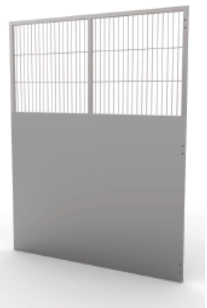 Kennel Run Side Panel Semi Iso L 1524mm x H 1981.2mm