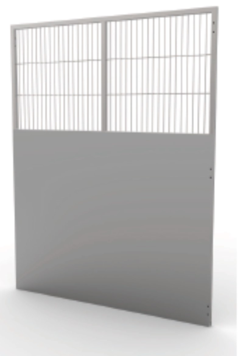 Kennel Run Back Panel Semi Iso W 762mm x H 1981.2mm